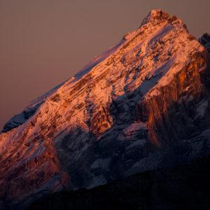 Monte Antelao al tramonto